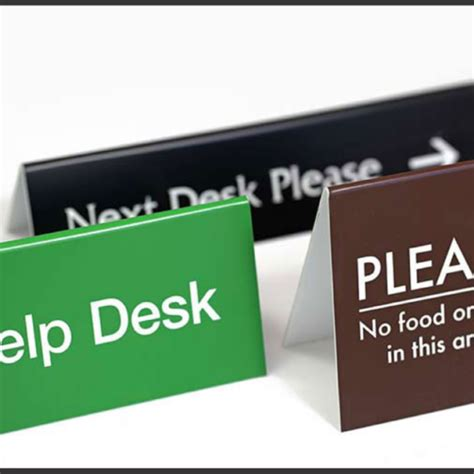 office desk signs hostgarcia
