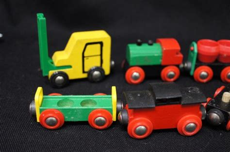 brio train cars brio wooden train cars 15pcs