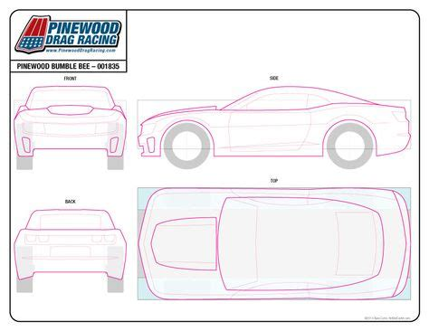 pinewood derby corvette template blank nascar car template related keywords blank nascar
