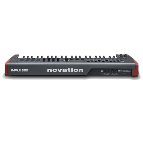 Usb Midi novation impulse 49 key usb midi controller keyboard at