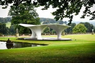 Zaha Hadid Home Zaha Hadid Pavilion At Chatsworth House E Architect