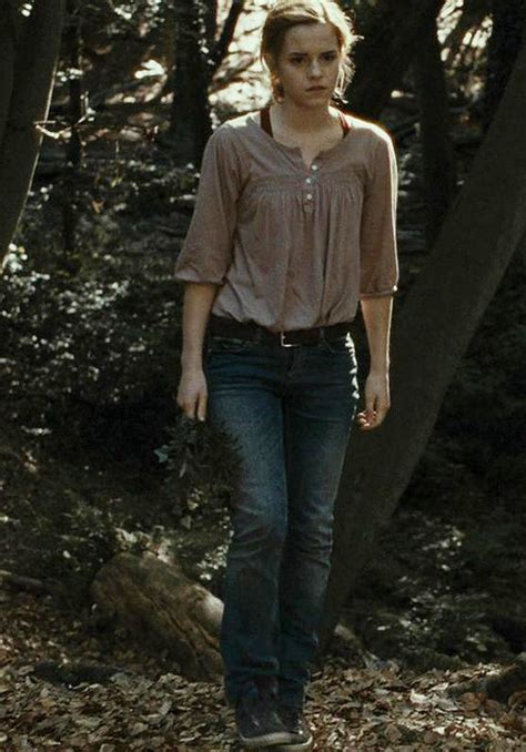 emma watson zara hermione wearing zara blouse in harry potter and the