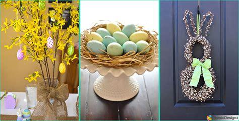 addobbi pasquali per casa idee di decorazioni pasquali per la casa e i negozi