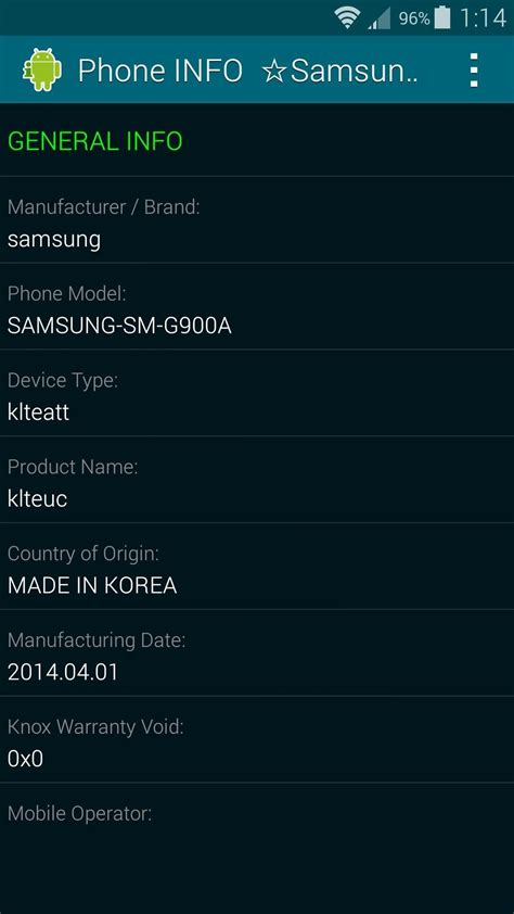 Out Of Country Phone Number Lookup Find Out When Where Your Samsung Galaxy Device Was Manufactured 171 Samsung Galaxy S5