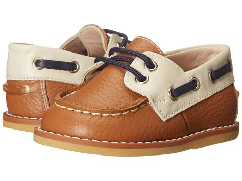 boat shoes for toddlers elephantito boat shoes infant toddler at zappos