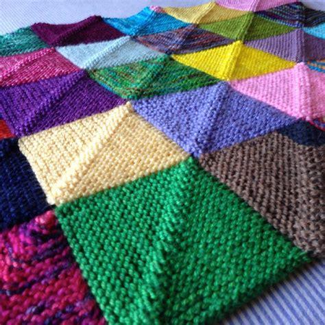 knitting squares memory blanket knitting pattern by georgie hallam tikki