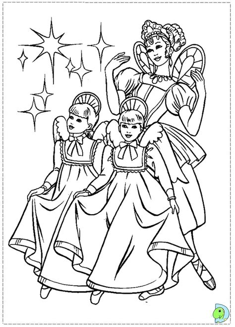 barbie nutcracker coloring pages free barbie nut cracker free coloring pages