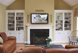 Bathrooms Colors Painting Ideas by White Painted Fireplace Unit