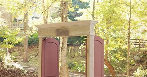 outdoor wedding venues in western carolina great idea for an entrance to an outdoor wedding ceremony at hawkesdene a destination
