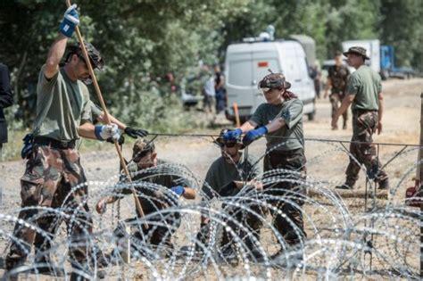 ufficio immigrazione como immigrazione ungheria iniziati i lavori muro lungo