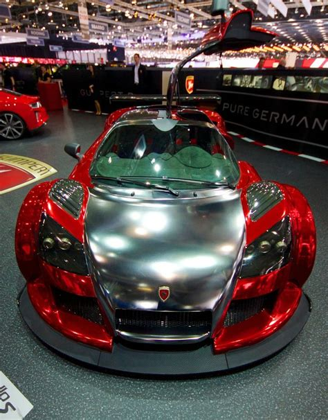 Chrom Lackierung Auto by Gumpert Apollo With A Chrome Paint Supercars