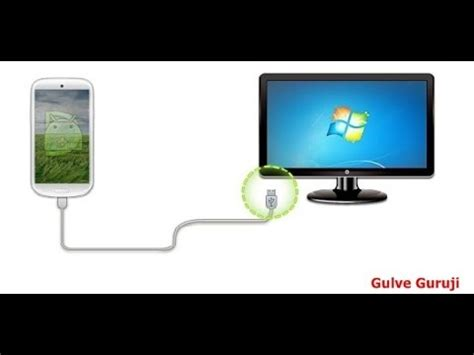 pc to mobile how to connect mobile to pc with usb cable