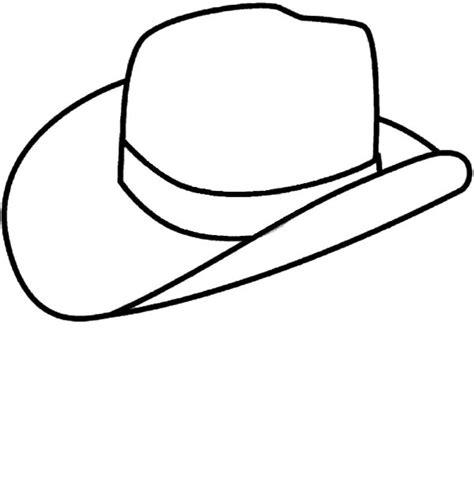 free coloring pages cowboy hat cowboy hat outline coloring page sketch coloring page