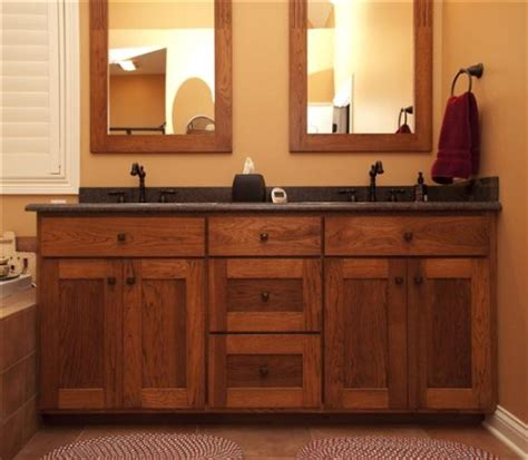 Shaker Style Bathroom Furniture Gallery Category Bathrooms Image Shaker Style Vanity With Mirror Frames Made To Match