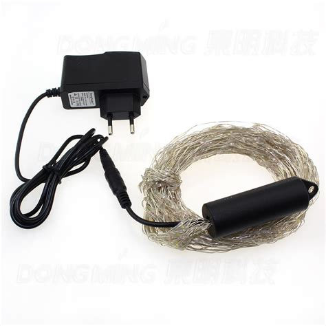 power cords for christmas lights silver wire 360leds decorative string light 12v dc for with power adapter led