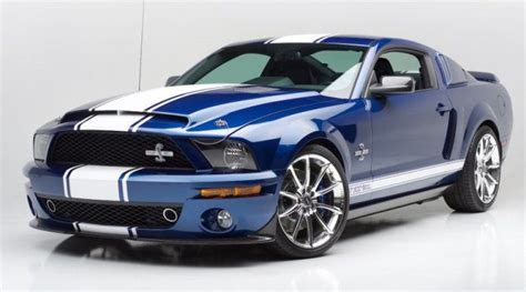 2007 Mustang Shelby by 2007 Ford Mustang Shelby Gt500 Snake Auction To