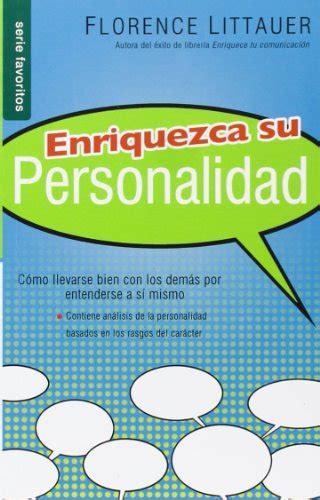 enriquezca su personalidad nf libros de personalidad libros