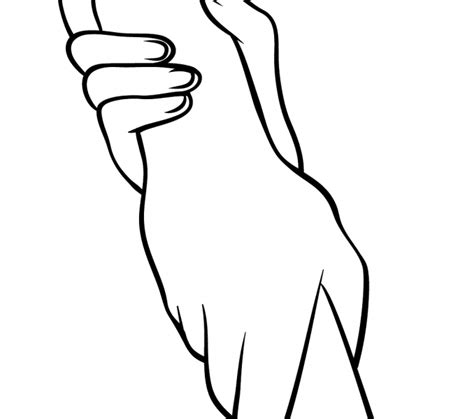 helping hands coloring page kids coloring europe
