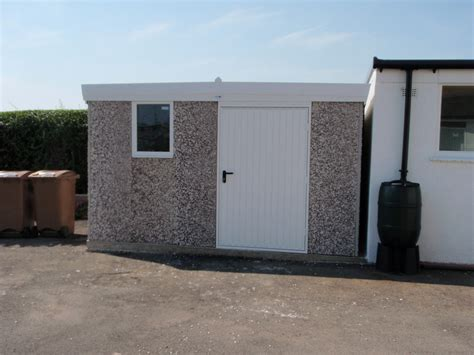 Hanson Garages Featherstone by Sheds And Workshops Hanson Concrete Garages