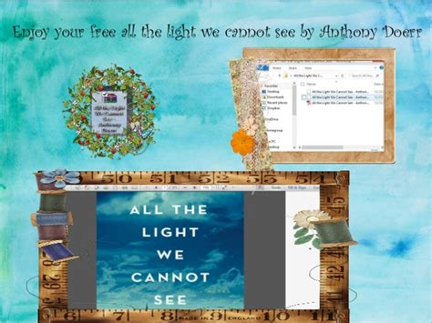 all the light we cannot see pdf download free all light we cannot see a novel by anthony doerr
