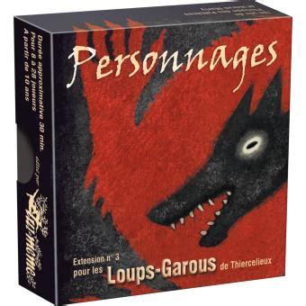 Asmodee Au Loup by Loup Garous Extension Personnages Asmod 233 E Autre Jeu De Soci 233 T 233 Fnac
