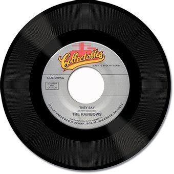 the rainbows : they say / minnie 45 collectables records