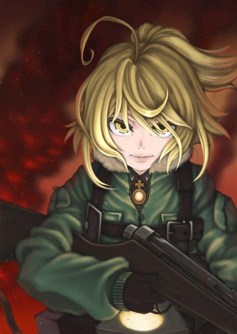 tanya degurechaff youjo senki military gun wallpapers
