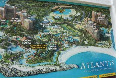 atlantis bahamas map view from the picture of the reef atlantis paradise island tripadvisor
