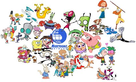 nickelodeon painting nicktoons all your favourite nickelodeon characters are
