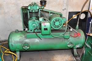 air compressor pulford model 59 cylinder powered by 3 phase nation auction 0022