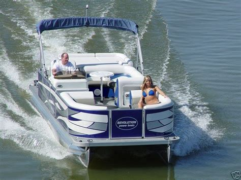 pontoon brands rowring boats 2007 brand new 24ft power pontoon boat