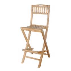 teak chb 010 altavista outdoor folding bar stool