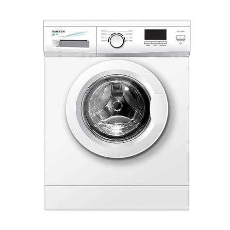 Mesin Cuci Sanken Sensa jual sanken sfl 7000w mesin cuci putih front loading