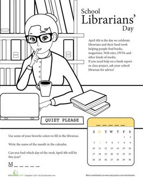 Library Worksheets by Best 25 School Librarian Ideas On School