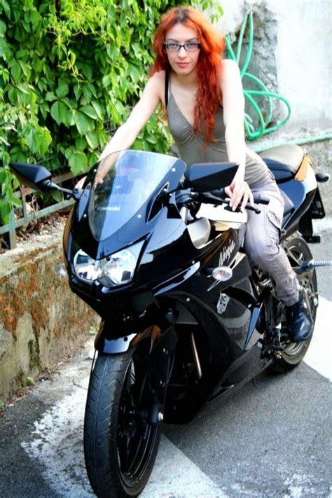 motor drag ninja galeri foto biker cewek cantik naik