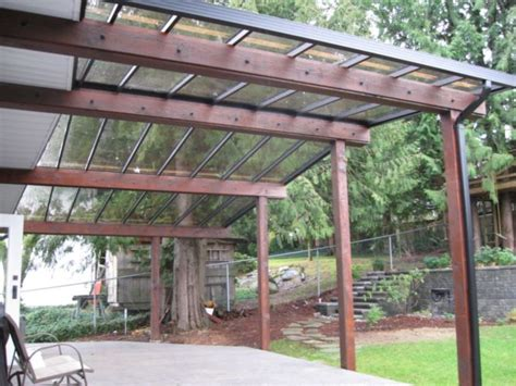 backyard shelter patio covers deck pinterest