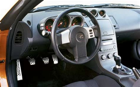 Z350 Interior by 2003 Nissan 350z Price Specs Review Road Test Motor