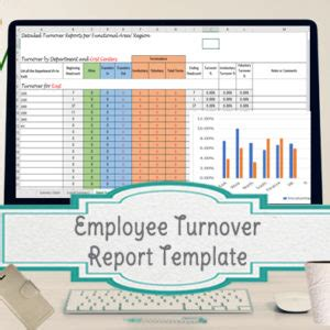 Hr Turnover Report Template Employee Turnover Report Template 28 Images Sle