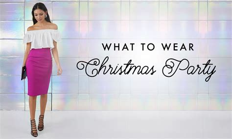 what to wear christmas party ideas youtube