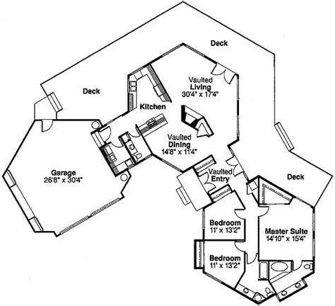 hexagon floor plans plan 72168da hexagonal retreat house plans sums it up