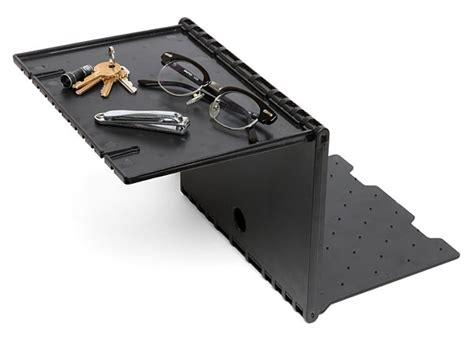 instant bedside nightstand shelf craziest gadgets