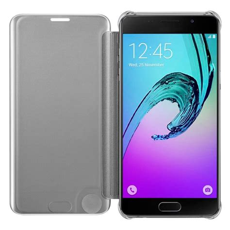 Batrai Samsung A5 2016 A510 Original Copotan funda original samsung a510 galaxy a5 2016 clear view plateado