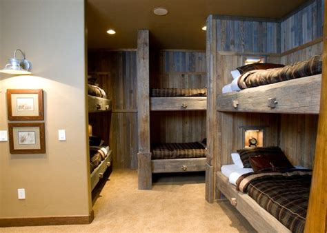bunk rooms how to bring cozy cabin ideas into your winter home