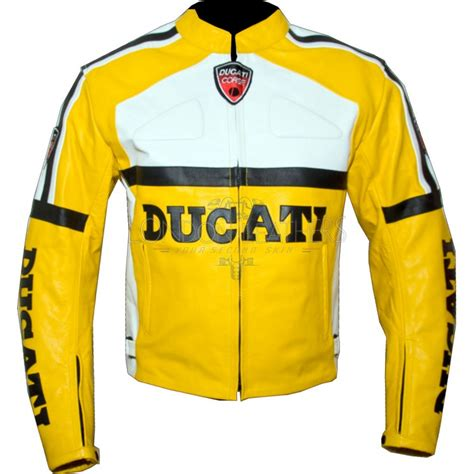 yellow motorcycle jacket ducati yellow leather motorcycle jacket
