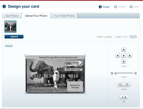 credit card template maker get one of your pictures on a credit card a photo editor