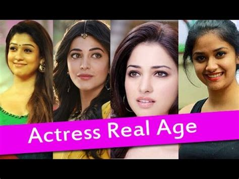 bollywood heroine age list top south indian actresses real age list heroines real