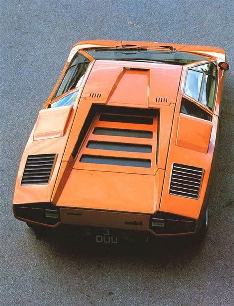 Lamborghini Countach Orange Orange Lamborghini Countach Lp400