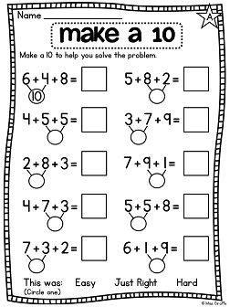 first grade math unit 12 adding 3 numbers | pinterest