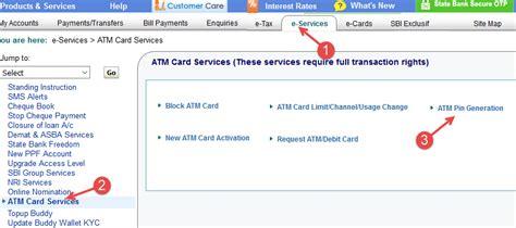 debit card activation online infocard co