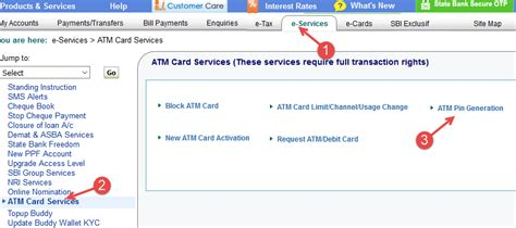 Sbi Gift Card Activation - debit card activation online infocard co